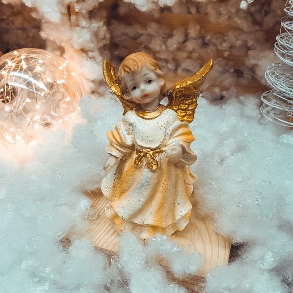 Figurina decorativa realizata din rasina – Ingeras 0