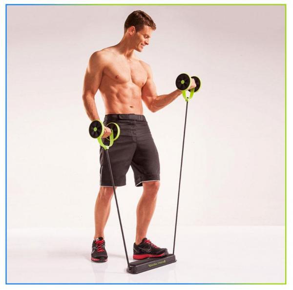 Roată dublă cu role pentru abdomen Fitness Extreme 6