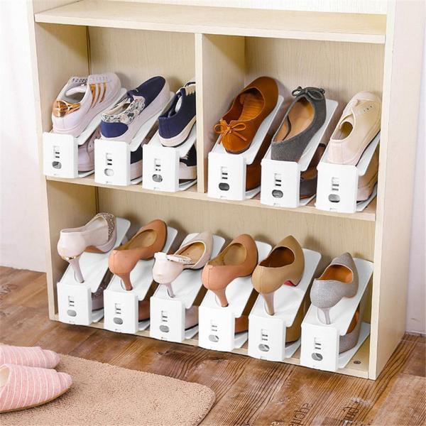 Set 12 x Organizator suport pantofi ShoeRack 1
