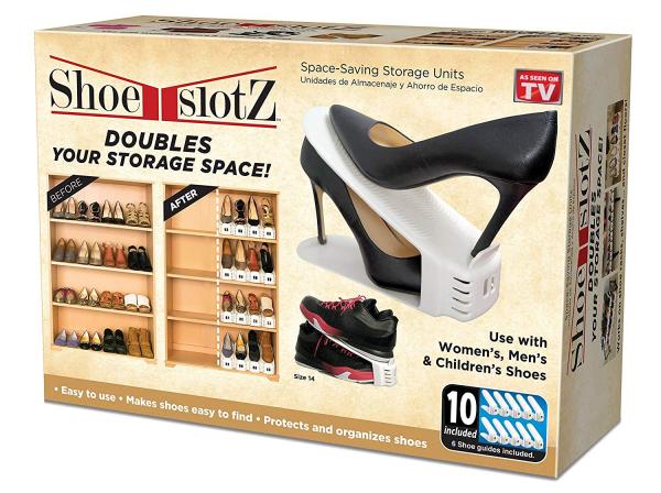Set 12 x Organizator suport pantofi ShoeRack 6