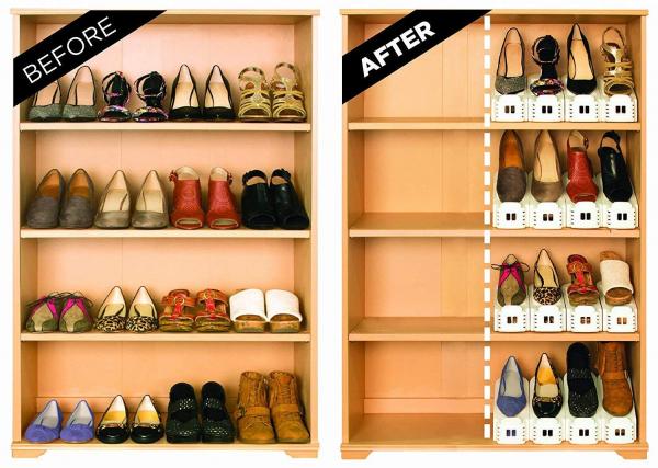 Set 12 x Organizator suport pantofi ShoeRack 2
