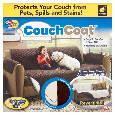 Husa De Protectie Pentru Canapea, 2 Fete - Reversibila - Couch Coat 1