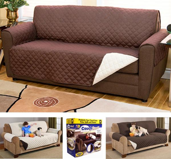Husa De Protectie Pentru Canapea, 2 Fete - Reversibila - Couch Coat 2
