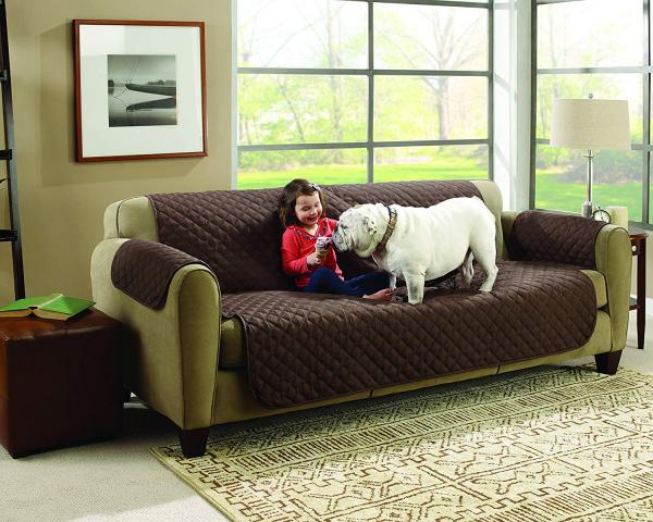 Husa De Protectie Pentru Canapea, 2 Fete - Reversibila - Couch Coat 0