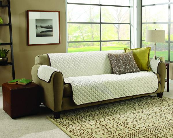 Husa De Protectie Pentru Canapea, 2 Fete - Reversibila - Couch Coat 4
