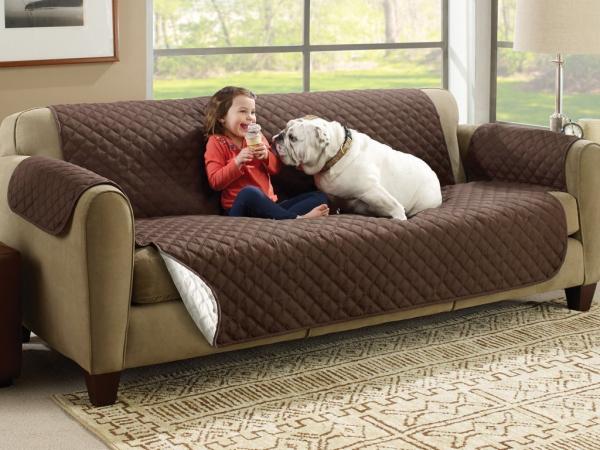 Husa De Protectie Pentru Canapea, 2 Fete - Reversibila - Couch Coat 5
