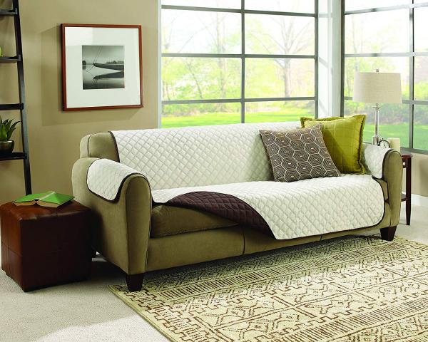 Husa De Protectie Pentru Canapea, 2 Fete - Reversibila - Couch Coat 3