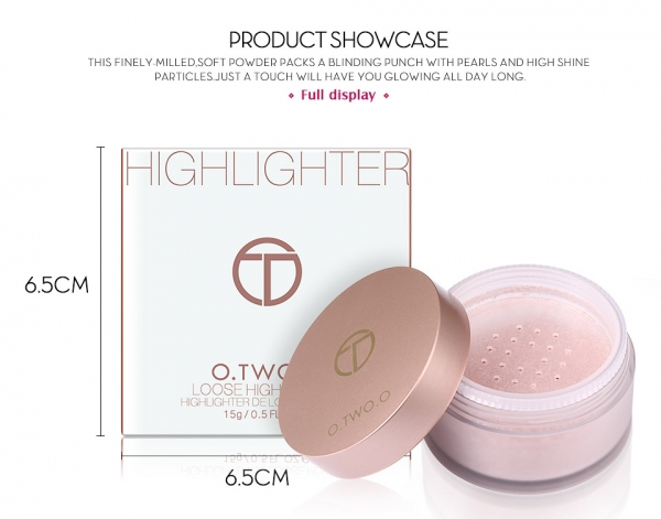 Iluminator pulbere Loose Powder Highlighter 4
