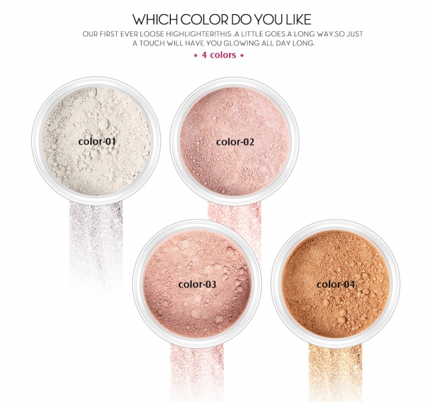 Iluminator pulbere Loose Powder Highlighter 2