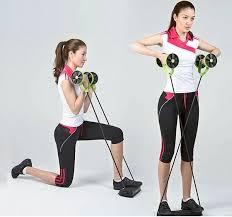 Roată dublă cu role pentru abdomen Fitness Extreme 8
