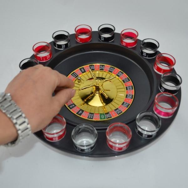 Joc Ruleta Cu Shot-uri 32 CM 6