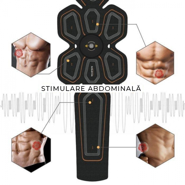 Centura Electrostimulare Abdomen #2 1