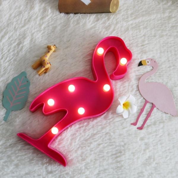 Lampa Led Flamingo 1