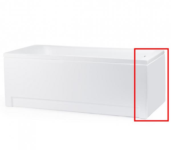Masca laterala pentru Cada CUBIC 170x80 cm 0