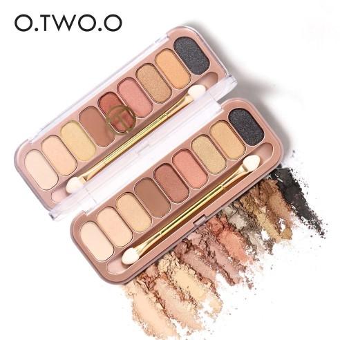 Paleta Profesionala Farduri Pentru Ochi 9 Culori  O.TWO.O 0