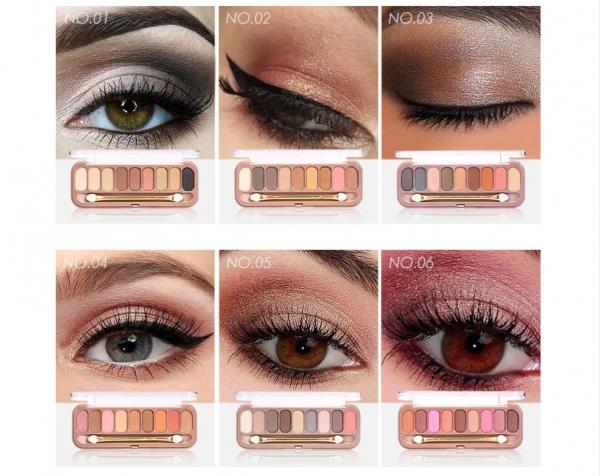 Paleta Profesionala Farduri Pentru Ochi 9 Culori  O.TWO.O 3