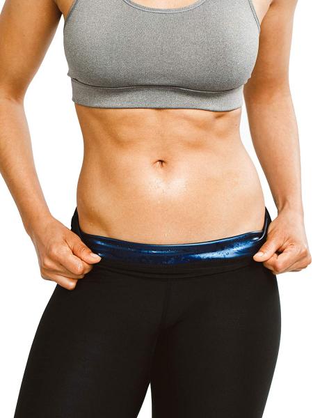 Colanti pentru slăbire cu compresiesaună cu talie înaltă, pierdere în greutate - Unisex [4]