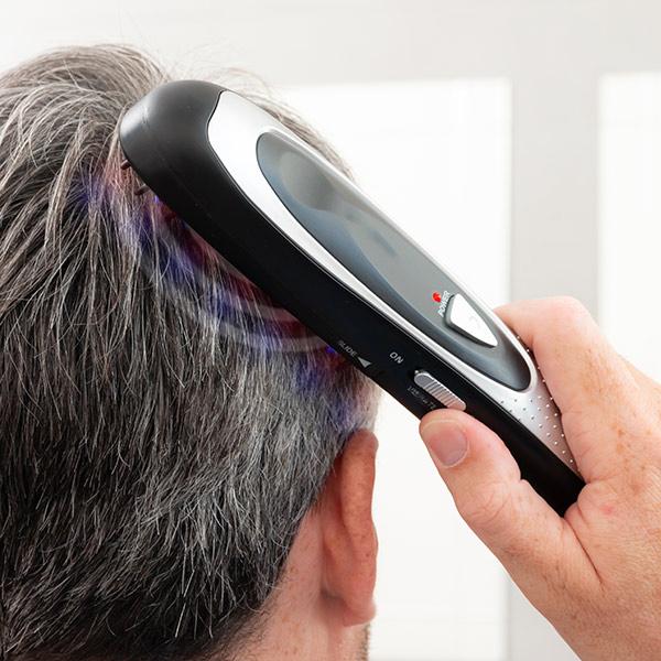 Set de perii electrice - tratament cu laser, oprește caderea părului cu accesorii (12 bucăți) [4]