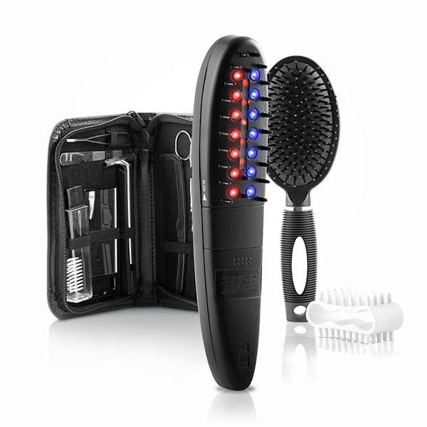 Set de perii electrice - tratament cu laser, oprește caderea părului cu accesorii (12 bucăți) [6]