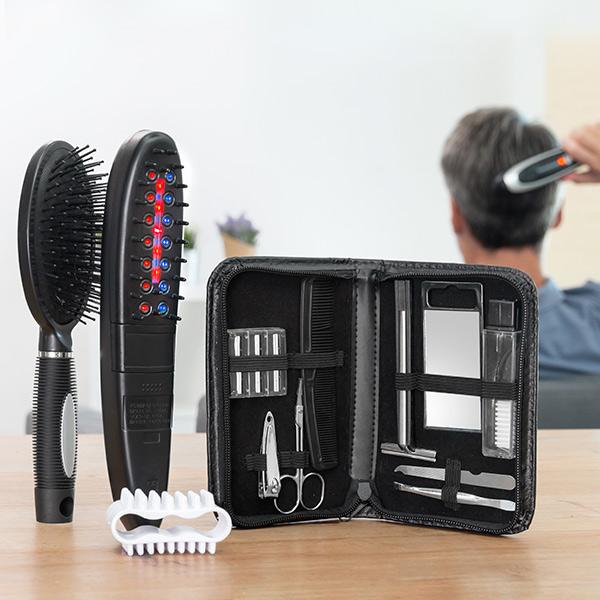 Set de perii electrice - tratament cu laser, oprește caderea părului cu accesorii (12 bucăți) 2