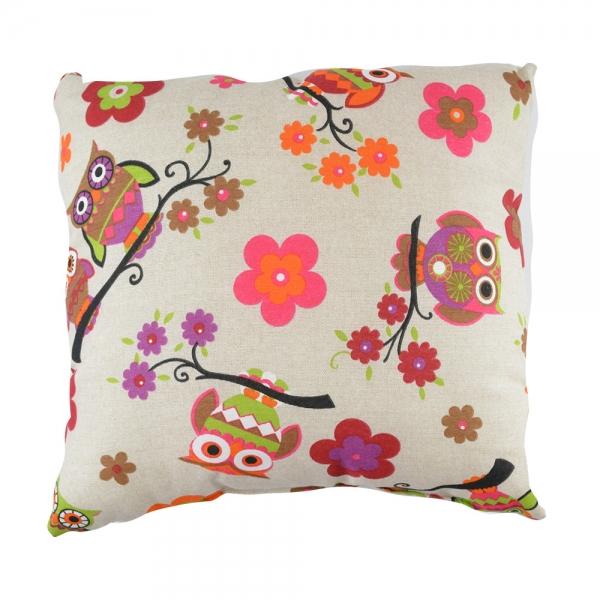 Perna Decorativa Bufnita #2 45X45 CM 2