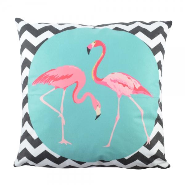 Perna Decorativa Flamingo 45X45 CM 2