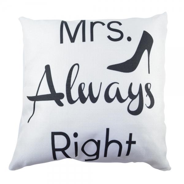 Perna Decorativa Mrs. Always Right 45X45 CM 2