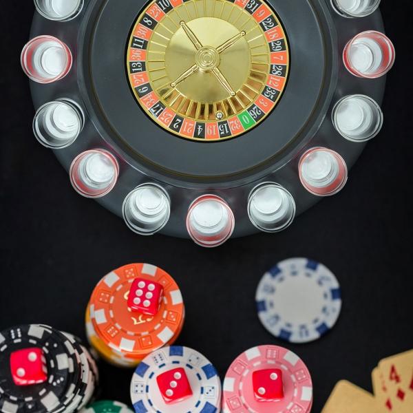 Joc Ruleta Cu Shot-uri 32 CM 9