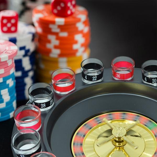 Joc Ruleta Cu Shot-uri 32 CM 10