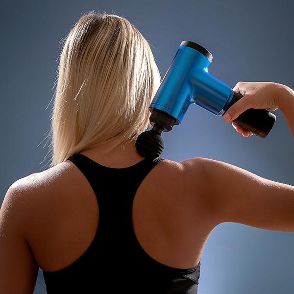 Pistol de masaj pentru relaxare și recuperare musculară 1