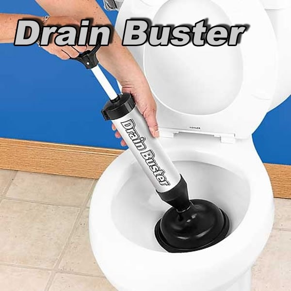 Pompa Pentru Desfundat Chiuveta Si Toaleta – Cu 2 Duze 2