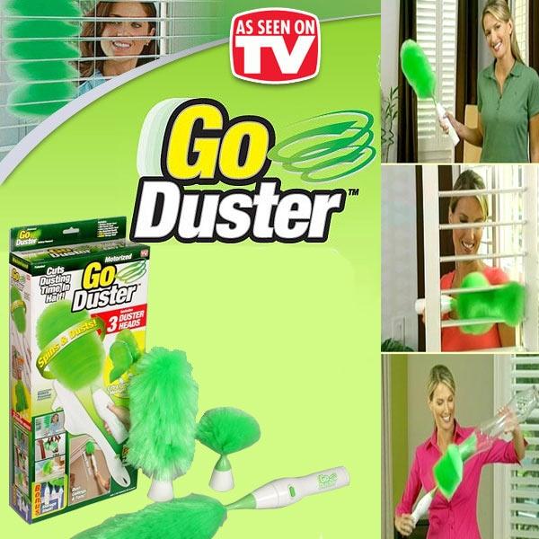 Perie Electrica De Curatare A Prafului - Go Duster – 3 Perii De Inlocuire 3