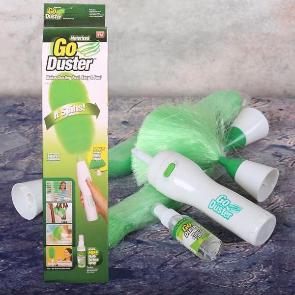 Perie Electrica De Curatare A Prafului - Go Duster – 3 Perii De Inlocuire 4