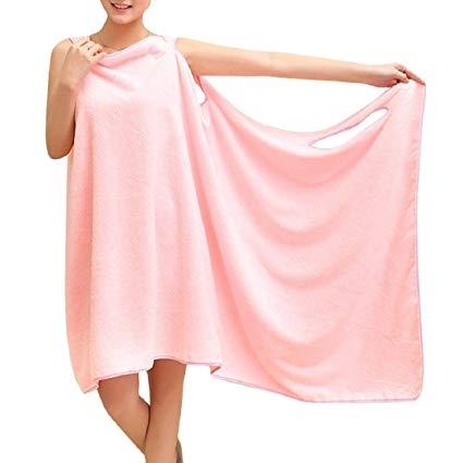 Prosop-Halat Pentru Baie Roz– Magic Towel 4