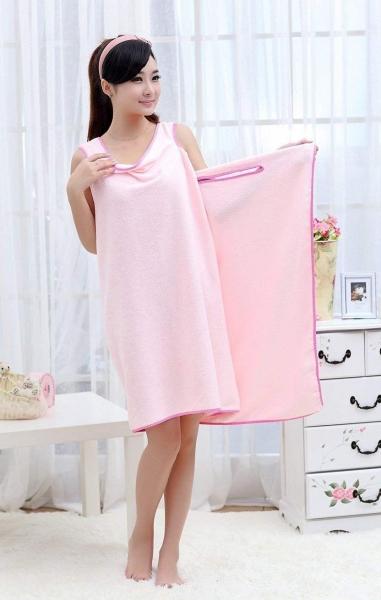 Prosop-Halat Pentru Baie Roz– Magic Towel 5