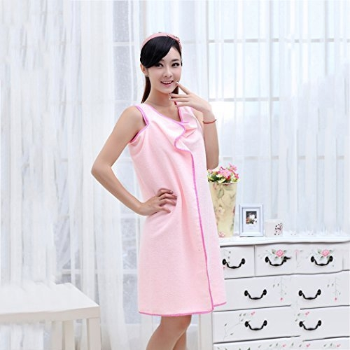 Prosop-Halat Pentru Baie Roz– Magic Towel 6