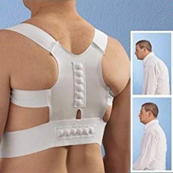 Corset Spate Magnetic Pentru Corectarea Pozitiei Spatelui #1 Dr. Levine Power Magnetic Posture 0