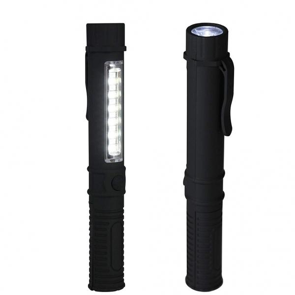 Lanterna LED Cu Baza Magnetica – 2 Functii - 4 Culori 4
