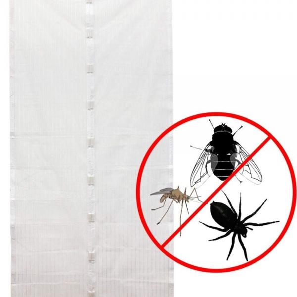 Perdea Alba Anti Insecte Pentru Usa - Cu Magnet 7