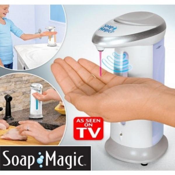 Dozator Automat De Sapun Cu Senzor – Soap Magic 2