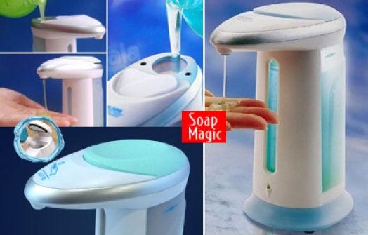 Dozator Automat De Sapun Cu Senzor – Soap Magic 3