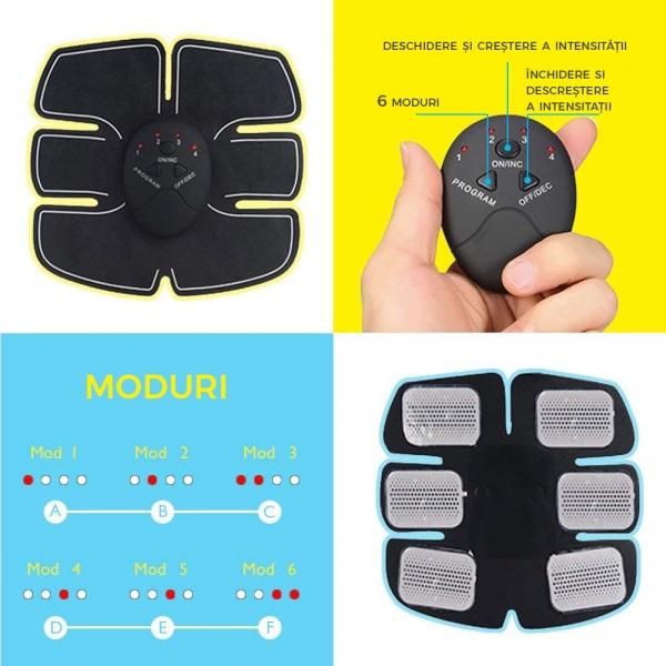 Centura Electrostimulare Corporala Smart Fitness – 3 In 1 4