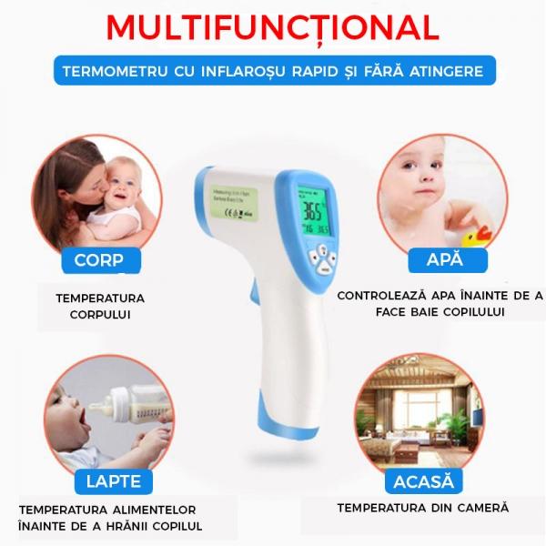 Termometru Digital Multifuctional Cu Inflarosu – Pentru Copii 1