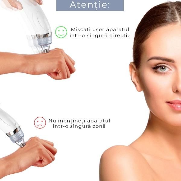 Dispozitiv Pentru Eliminarea Punctelor Negre – 4 Capete Wellness Beauté 8