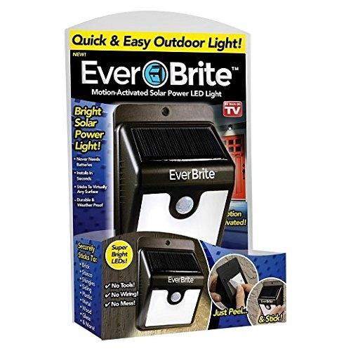 Lampa Pentru Exterior Cu Incarcare Solara Si Senzor Ever Brite 5
