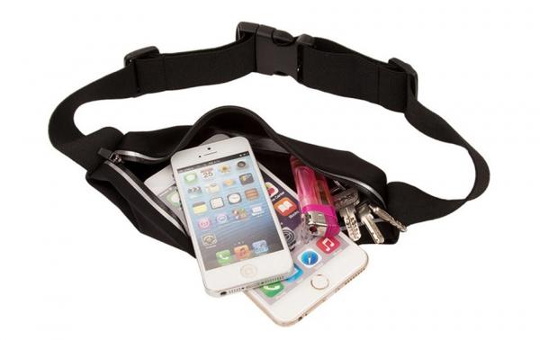 Husa/Borseta Telefon Pentru Alergat Negru – 5.5 Inch 5