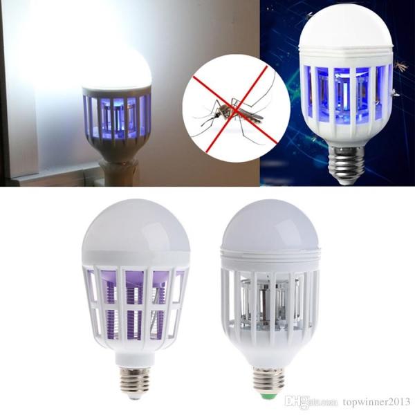 Bec LED Multifunctional Cu Lampa UV Impotriva Insectelor 2