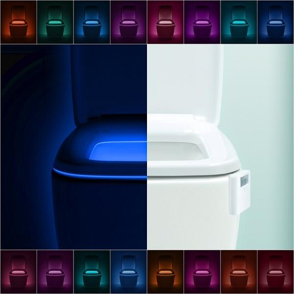 LED Multicolor Pentru Vasul De Toaleta - Cu Senzor Infarosu [0]