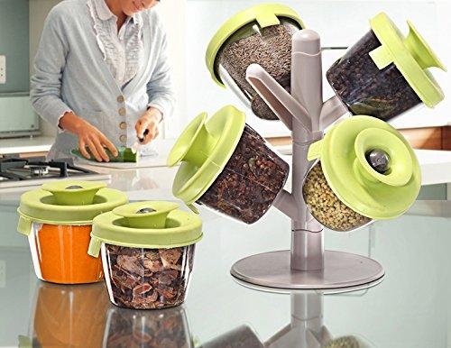 Suport Pentru Condimente Cu 6 Compartimente Popsome herbs & spices 6