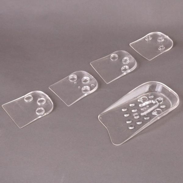 SET 2X2 Perechi - Talonete Inaltatoare Pentru Calcai Din Silicon - Pana la 5 cm [7]